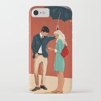 broadway iPhone & iPod Cases featuring Broadway Bus Stop by Stephan Parylak