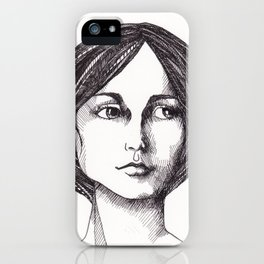 In Waiting iPhone Case