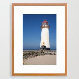 Talacre lighthouse.  Framed Art Print