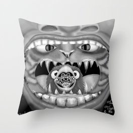 The Tiger and the Duke Throw Pillow