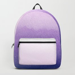 Purple Watercolor Design Backpack