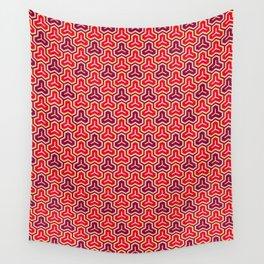 Bishamon Kikko (Bishamon's Armor) Japanese Kimono Pattern Wall Tapestry