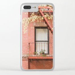 Brooklyn Fall Clear iPhone Case