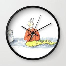 Thich Quang Slug Wall Clock
