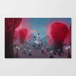 Flatty Canvas Print