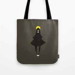 My God Is Behind Me Tote Bag