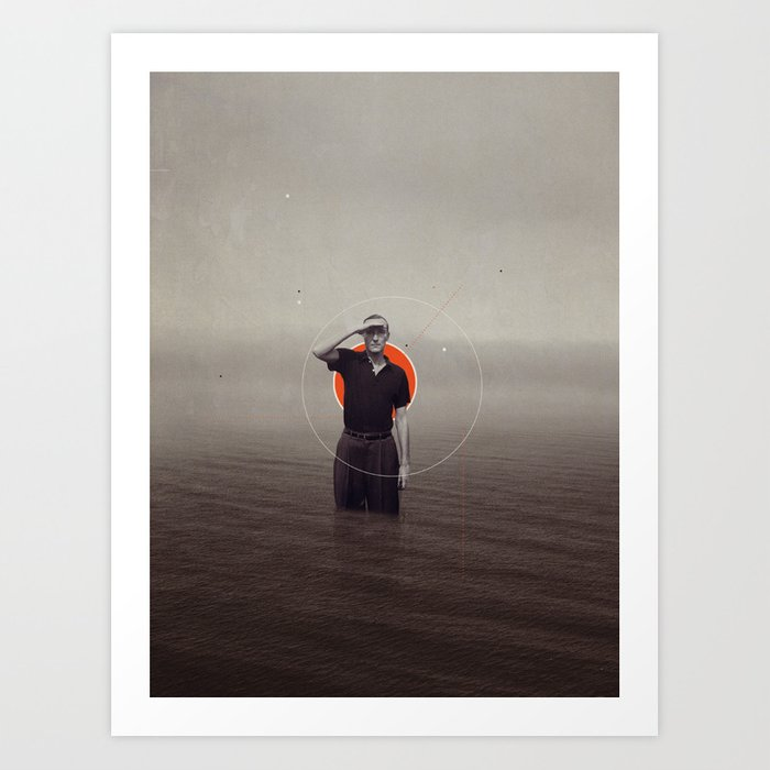 Where Have You Gone Without Me Art Print