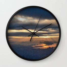 SF from afar Wall Clock