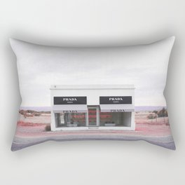 Pink Marfa Rectangular Pillow
