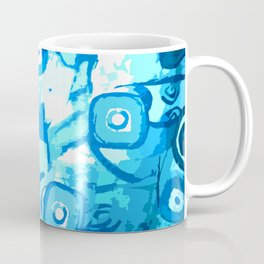 Blue lagoon - plava laguna - water abstration Coffee Mug