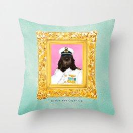 Spaniel the Casanova Throw Pillow