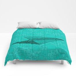 Paper Airplane 112 Comforters