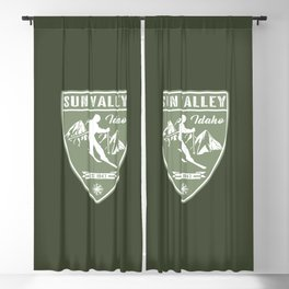 Sun Valley Idaho Blackout Curtain