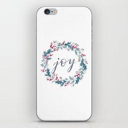 Christmas Wreath – Joy iPhone Skin
