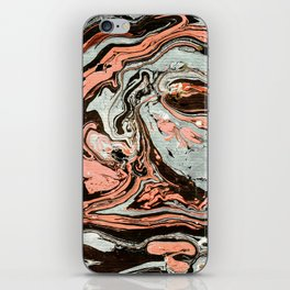 Abstract luxury painting marble iPhone Skin