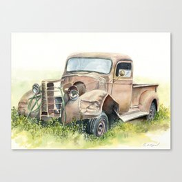 1938 Chevy Truck Canvas Print