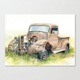 1938 Chevy Truck Canvas Print