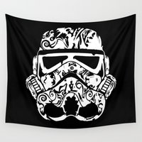 playstation Wall Tapestries featuring Trooper by eARTh