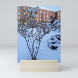 Snow Landscape Mini Art Print