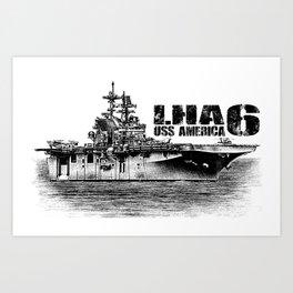 LHA-6 America Art Print