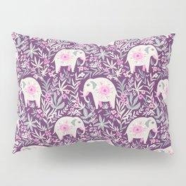 Floral elephant Pillow Sham