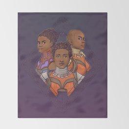 Wakanda Women Throw Blanket