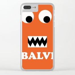 J BALVIN WORLD TOUR DATES 2019 BAKWAN Clear iPhone Case