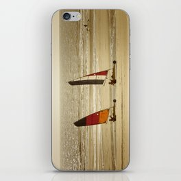 char à voile Nord iPhone Skin