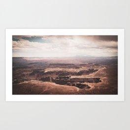 5,920' Canyonlands Art Print