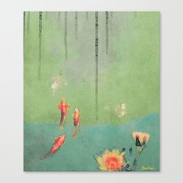 Koi Dreams Canvas Print