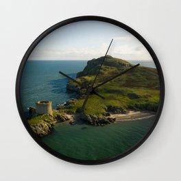 Aerial view of Ireland's Eye Wall Clock