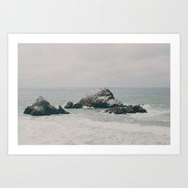SF Ocean Art Print