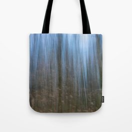 Abstract forest, intentional camera movement Tote Bag