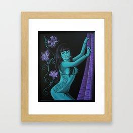 Year of the Tigress Framed Art Print