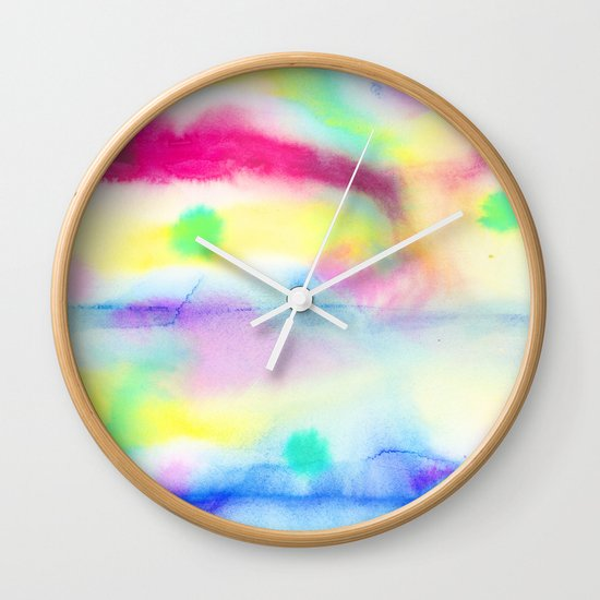 Fete (Origin) Wall Clock