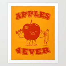 Apples 4EVER Art Print