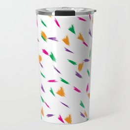 Joyful simple colour pattern Travel Mug