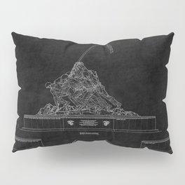 Marines Corps Memorial 2 Pillow Sham