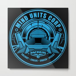 Mind Units Corp - Weapons of Mass Destruction Resistance Version Metal Print