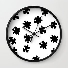 DT PUZZLE SCATTER 11 Wall Clock