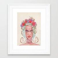 maori Framed Art Prints featuring Maori by KK Twiice Key
