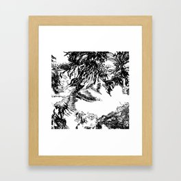 Polk Framed Art Print