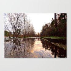 Northwest reflection Canvas Print