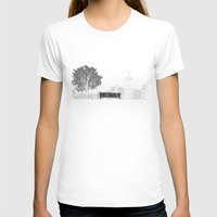 500 days of summer T-shirts featuring Tom's Favourite Spot — Angels Knoll Park, LA — (500) Days of Summer by Martin Lucas