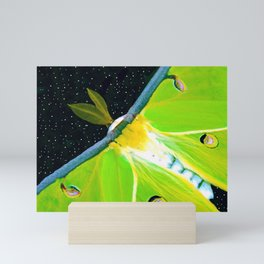 Flight of the Luna Moth Mini Art Print