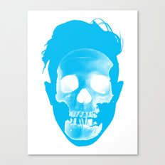 Hipster Head Canvas Print