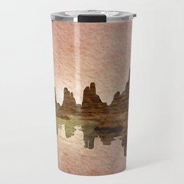 Sunset Mountain Reflections Travel Mug