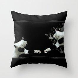 The Creation of Jari Throw Pillow