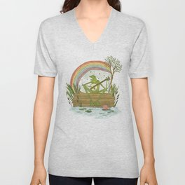 Rainbow Connection Unisex V-Neck
