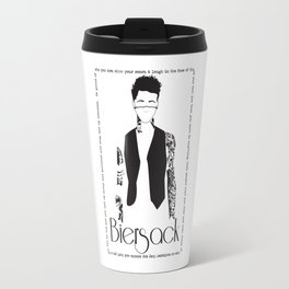 The Tattoos of Andy Biersack Travel Mug